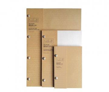 Recharges carnets Héritage kraft
