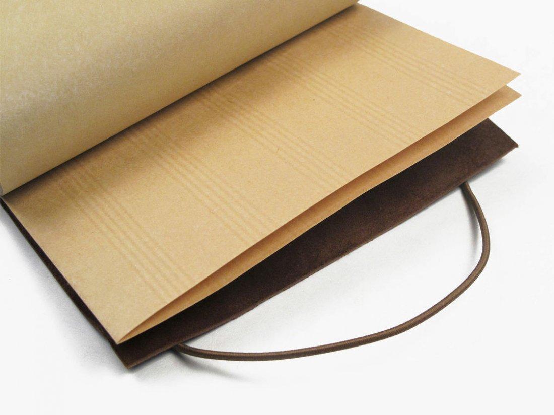 Carnet en cuir A6 - Cohiba