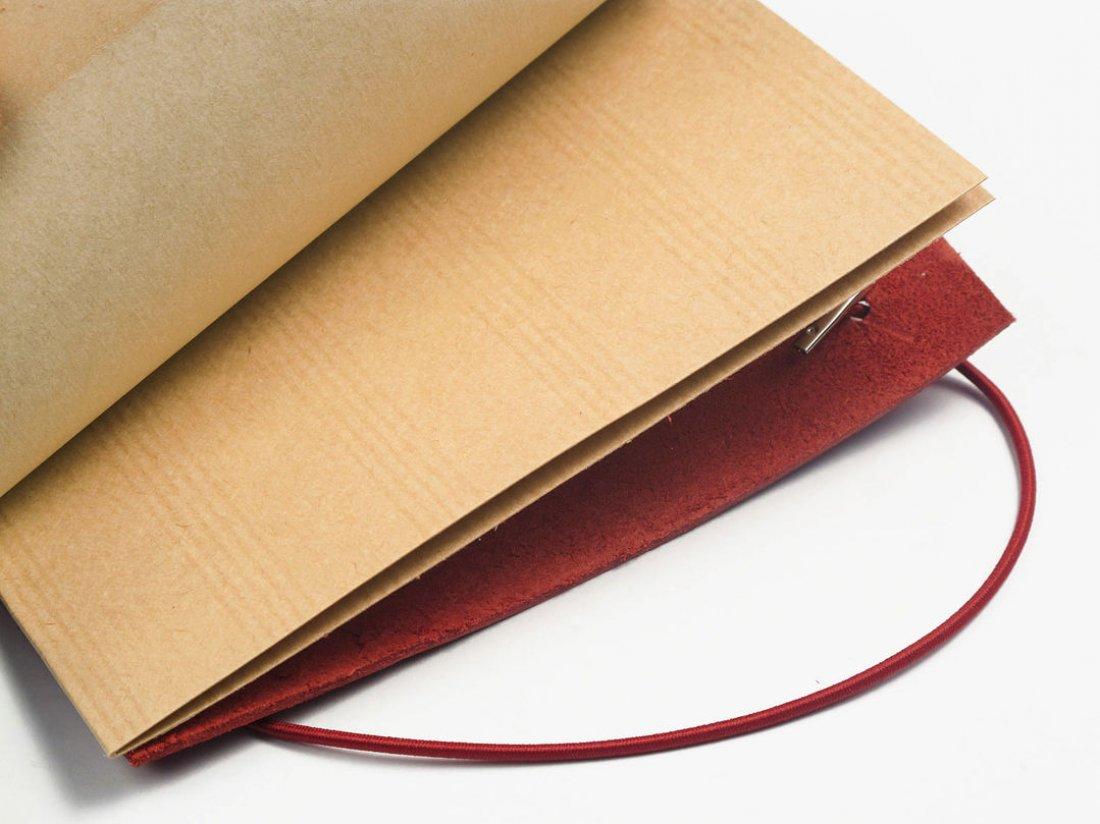 Carnet en cuir A6 - Garance
