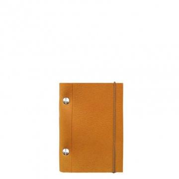 Carnet en cuir A6 - Gold