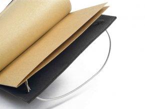 Carnet en cuir A6 - Robusto