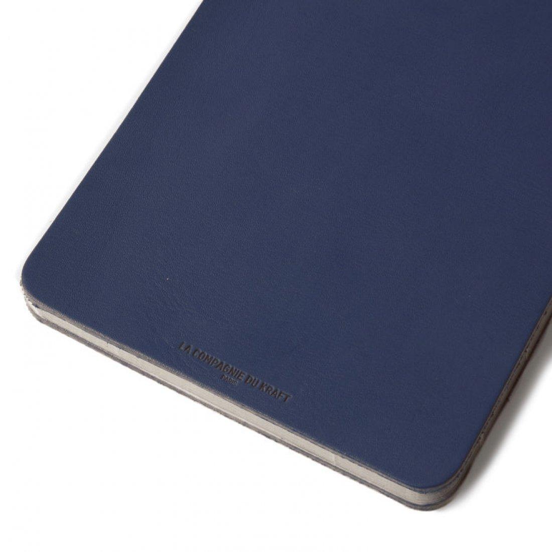Carnet en cuir iMini - Cobalt