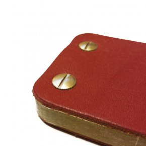 Carnet en cuir iKone - Garance