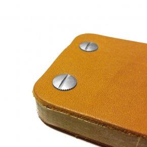 Carnet en cuir iKone - Gold