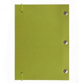 Carnet en kraft A5 - Vert